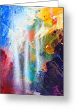 Spirit Of Life - Abstract 5 Greeting Card