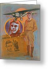 Lindbergh, Spirit Of St. Louis Greeting Card