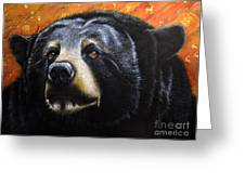 Spirit Of The Bear Greeting Card