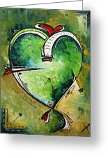 Spirit Of The Heart By Madart Greeting Card