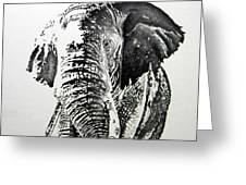 Spirit Of The Serengeti Greeting Card
