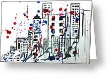 Spirit - Your Soul And Spirit Is In The City Greeting Card by Michael Rados