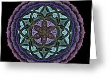 Spiritual Heart Greeting Card by Keiko Katsuta