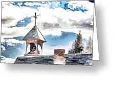 Spiritual Pastels Greeting Card