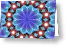 Spiritual Pulsar K1 Greeting Card