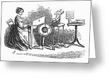 Spiritualism, 1855 Greeting Card