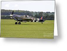 Spitfire Mk Ixb Greeting Card