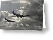 Spitfire Wingman Greeting Card