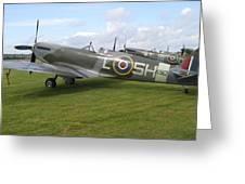 Spitfires Greeting Card