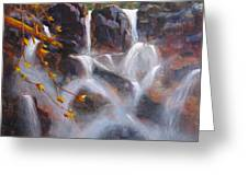 Splash And Trickle Greeting Card