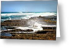 Splashes At Sea Greeting Card