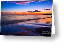 Splashes Of Color - Maui Greeting Card