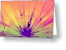 Splat Greeting Card