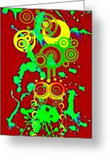 Splattered Series 10 Greeting Card