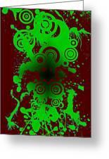 Splattered Series 12 Greeting Card