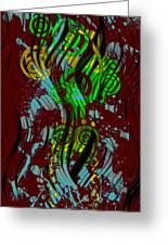 Splattered Series 2 Greeting Card