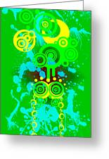 Splattered Series 7 Greeting Card