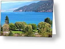 Splendid Kalamalka Lake Greeting Card