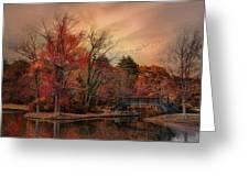 Splendor In The Park Greeting Card