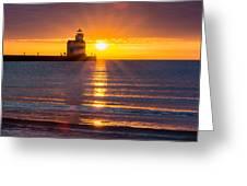 Splendour Rising Greeting Card