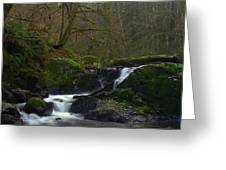 Split Falls 3 Greeting Card
