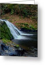 Split Falls Greeting Card