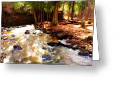Split Rock River Greeting Card