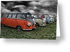 Splitty Rotters 2 Greeting Card