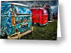 Splitty Rotters Greeting Card