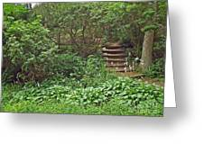 Spohr Gardens - Quissett - Falmouth - Ma - Cape Cod Greeting Card