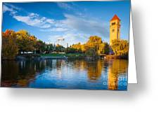 Spokane Reflections Greeting Card