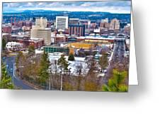 Spokane Washington Greeting Card