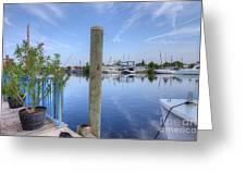Sponge Boat Docks 2  Greeting Card