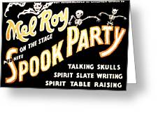Spook Party 2 Greeting Card