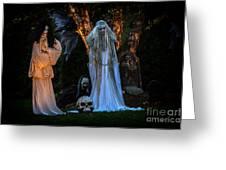 Fantom Women Vinette Greeting Card