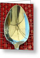 Spoonful Of Umbrella Greeting Card