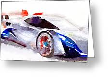 Sport Car 3 Greeting Card