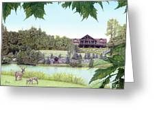 Sporting Clays At Seven Springs Mountain Resort Greeting Card