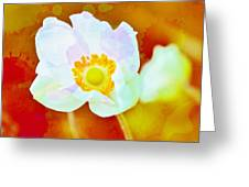 Spot Of Color Greeting Card by Cathie Tyler