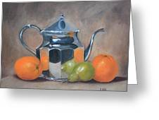 Spot Of Tea Greeting Card