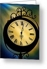 Spotlight On Time Greeting Card