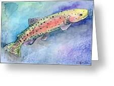 Spotted Trout Greeting Card