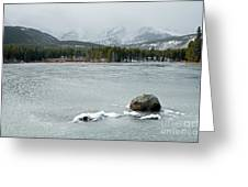 Sprague Lake In Rocky Mountain National Park Greeting Card