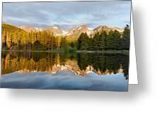 Sprague Lake Reflections Greeting Card