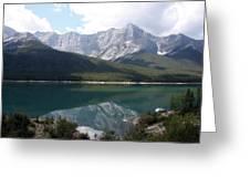 Spray Lake  Greeting Card by Carolyn Ardolino
