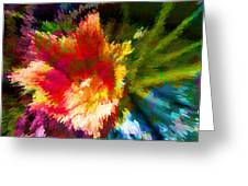Spring Abstraction I Greeting Card