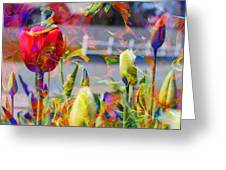 Spring Abstraction IIi Greeting Card