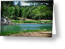 Spring At Goldwater Lake Greeting Card
