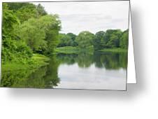Spring At Kings Pond Greeting Card