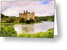 Spring At Leeds Castle Greeting Card by Mark E Tisdale